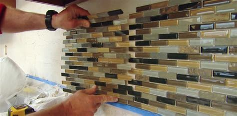 kitchen backsplash how to install how to install a mosaic tile backsplash today 39 s homeowner