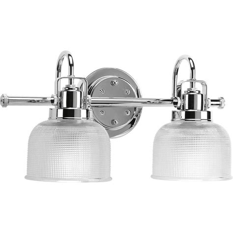 bathroom lighting collections progress lighting archie collection 17 in 2 light chrome