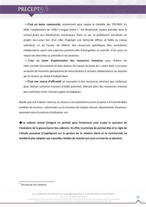 les cabinets de conseil en management 224 la transition num 233 rique