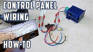 Control Panel Wiring  With Led U0026 39 S  - How To - Model Railroads