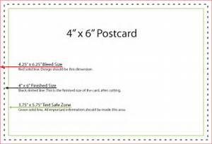 postcard template usps