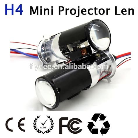 Len H4 by 2015 All In One H4 Bi Xenon 35w Hid Mini Projector Len