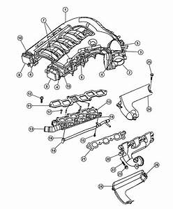Dodge Charger Actuator  Actuator Package  Manifold Tuning Valve