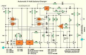 Automatic 9v Battery Charger