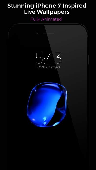 live iphone black live wallpapers on the app store