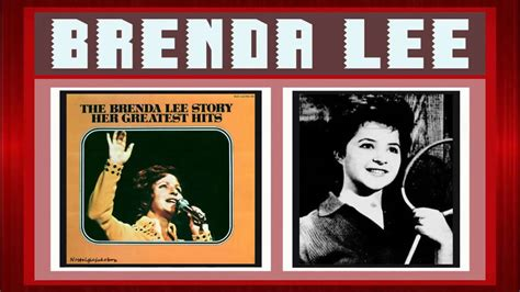 brenda lee all alone am i lyrics brenda lee all alone am i youtube