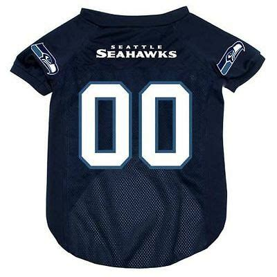 seattle seahawks mesh pet dog jersey  officially