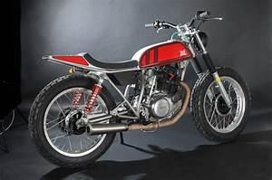 Racing Caf U00e8  Yamaha Sr 250 By Reborn Motors