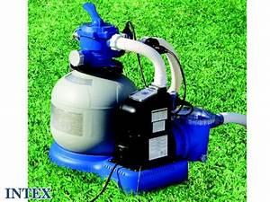 Pompe Piscine Intex 6m3 : filtre a sable 6m3 h pas cher ~ Mglfilm.com Idées de Décoration