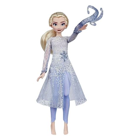 disney frozen  magical discovery elsa doll  lights