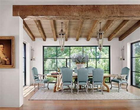 salle a manger rustique lanternes n 233 oclassique meubles salle 224 manger rustique faisceau d 233 clairage de plafond d 233 co