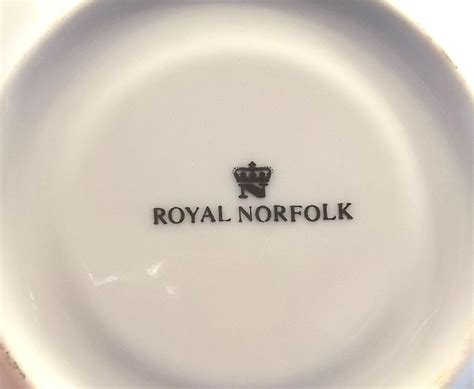 Saucers For Planters by Royal Norfolk Roses Collectable China
