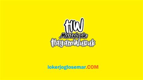 Local people speak banyumasan, a dialect of javanese. Loker Semarang Terbaru di Martabak Hayam Wuruk - Loker Jogja Solo Semarang Januari 2021