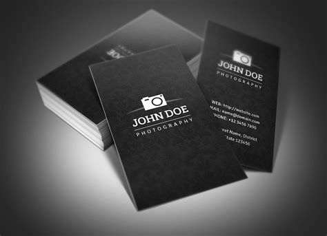 photography business card designs  examples psd