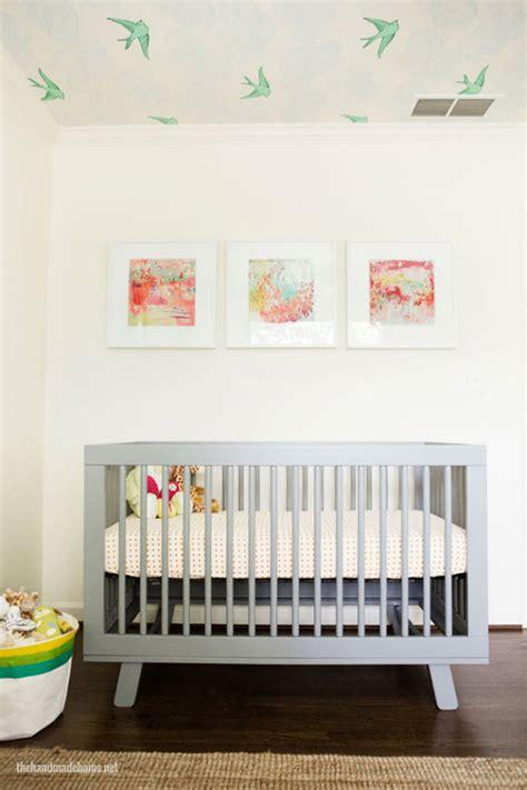 modern crib modern nursery design get the look simplified bee