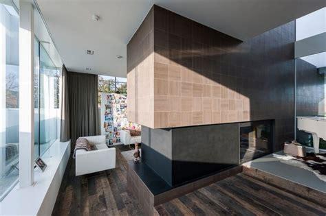 Moderne Innenarchitektur In Einem Einfamilienhaus In Belgien