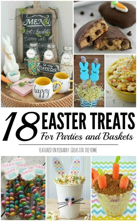 ideas for easter treats easter treats 18 ideas for easter baskets and parties