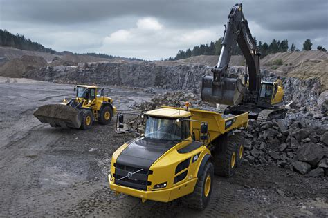 volvo construction equipment sales   pct
