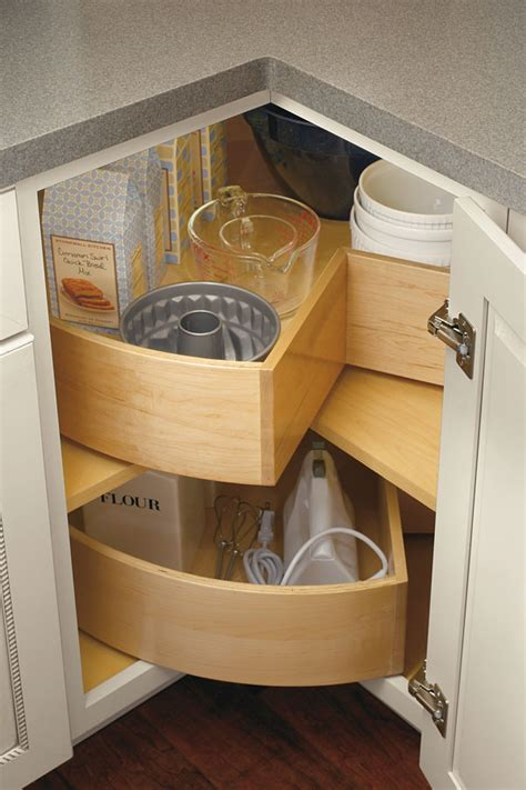 adding a lazy susan in a corner cabinet segmented super lazy susan cabinet cabinetry
