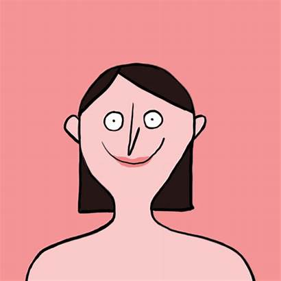 Face Illustration Gifs Wash Funny Clean Illustrations