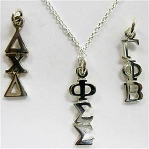 greek lavalier alpha delta kappa pinterest With greek letter lavalier necklace