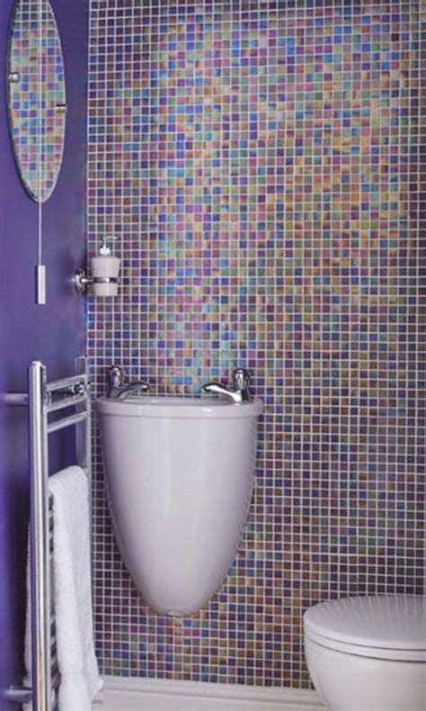 Purple Bathroom Tiles by 36 Purple Bathroom Wall Tiles Ideas And Pictures