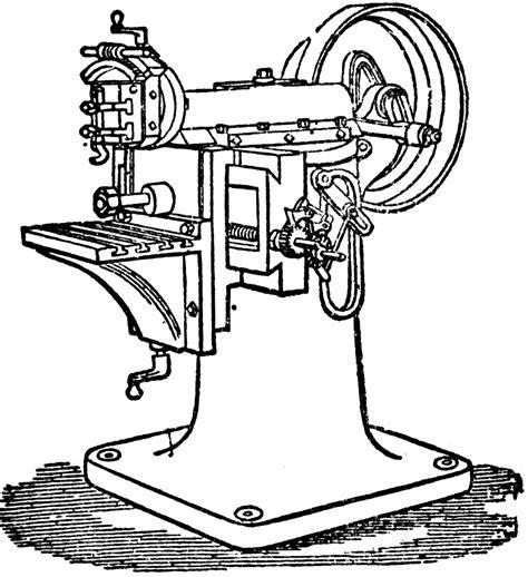 shaping machine clipart