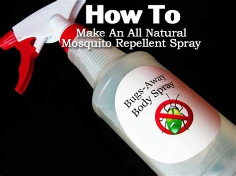 mosquito for yard how to make an all mosquito repellent spray 7875