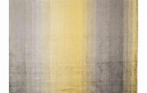 Teppich Gelb Grau : viskose teppich grace gelb ca 200x300 cm handgekn pft 900201 spitzh ttl home company ~ Indierocktalk.com Haus und Dekorationen