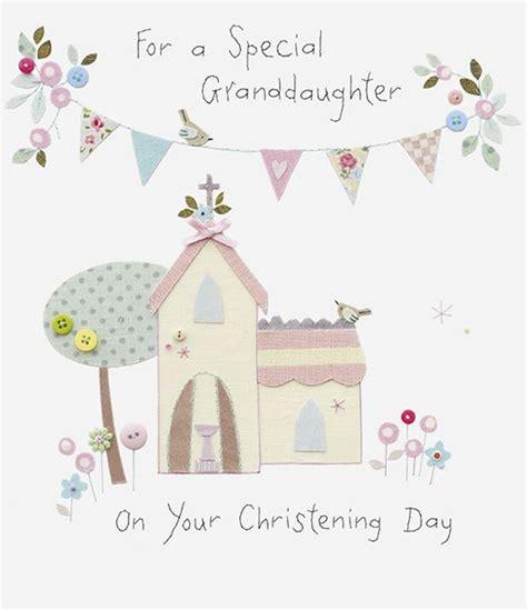 granddaughter christening card