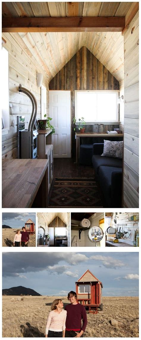 Excellent Wood Texturing And Heat Stove  Tiny Home