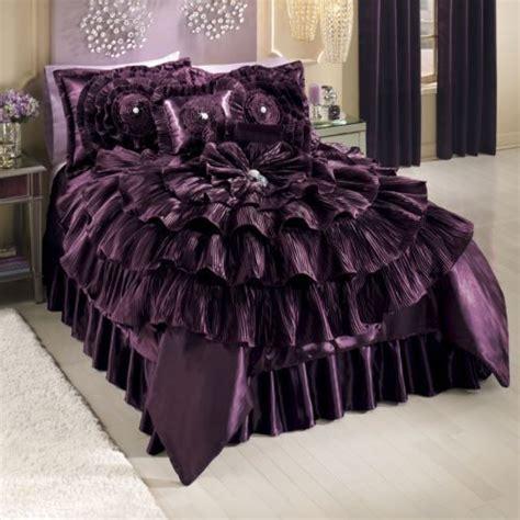 bejeweled romance comforter from midnight velvet
