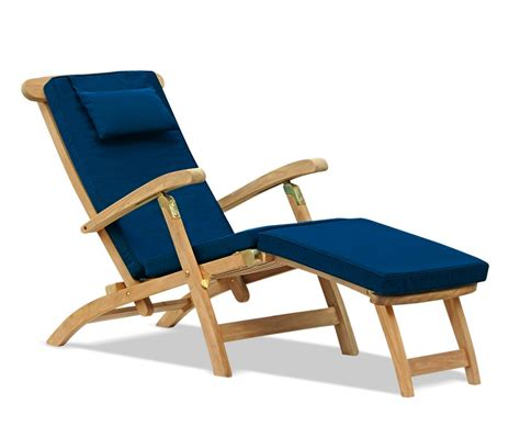 Teak Steamer Chair Fittings by Halo Teak Steamer Chair Brass Fittings Cushion