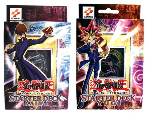 Original Yugioh Starter Deck List by Yugioh Original Yugi Kaiba Starter Deck Set