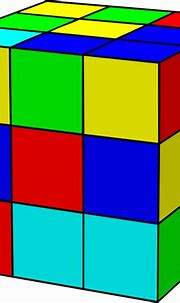 Rubik Cube clip art Free Vector / 4Vector