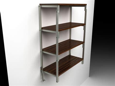 Swing Table by Swing Table Shelf Model Turbosquid 1332063
