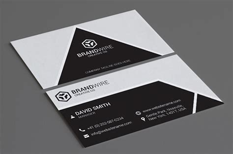 modern business cards bundle graphic pick