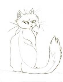 warrior cat drawings sitting warrior cat sketch by mistybubblez on deviantart