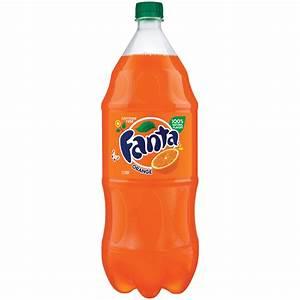 Fanta Caffeine-free Orange Soda  2 L