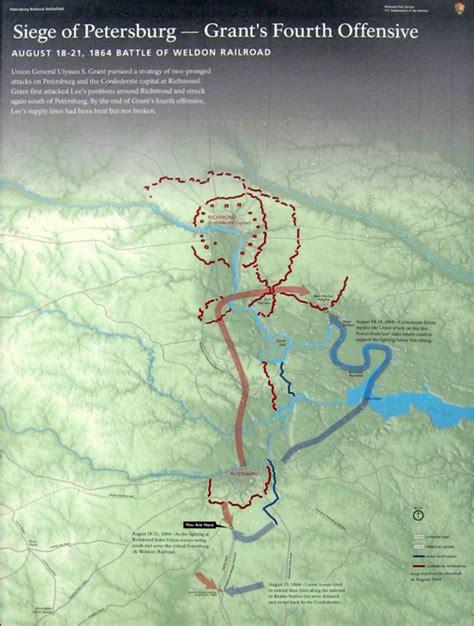 siege weldom siege of petersburg grant 39 s fourth offensive orientation