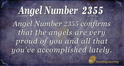 Angel Number 2355 Meaning | SunSigns.Org