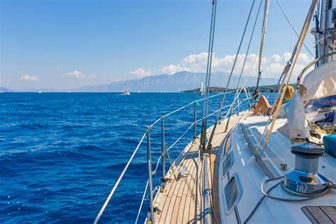 Yacht Greece by Sailing Yacht In Lefkada Greece Bliss Honeymoons