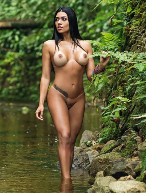 Playboy Novembro Cintia Vallentim Seu Jeca
