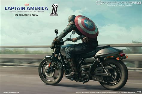 Join Captain America & H-d As