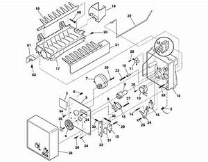 28 Ge Ice Maker Parts Diagram