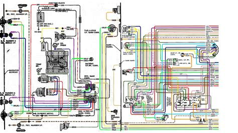 68 Chevy Wiring Schematic For by 67 72 Chevy Wiring Diagram Crafts And Chevy S10