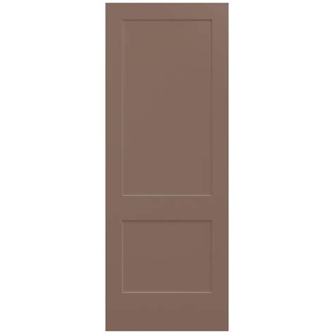 doors interior home depot jeld wen 36 in x 96 in medium chocolate painted