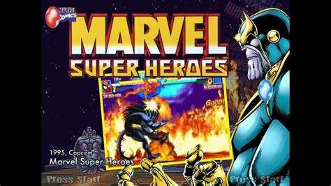 marvel super heroes arcade youtube