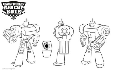 transformers rescue bots coloring pages morbot