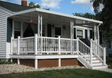 pleasant front porch awning ideas walsall home  garden